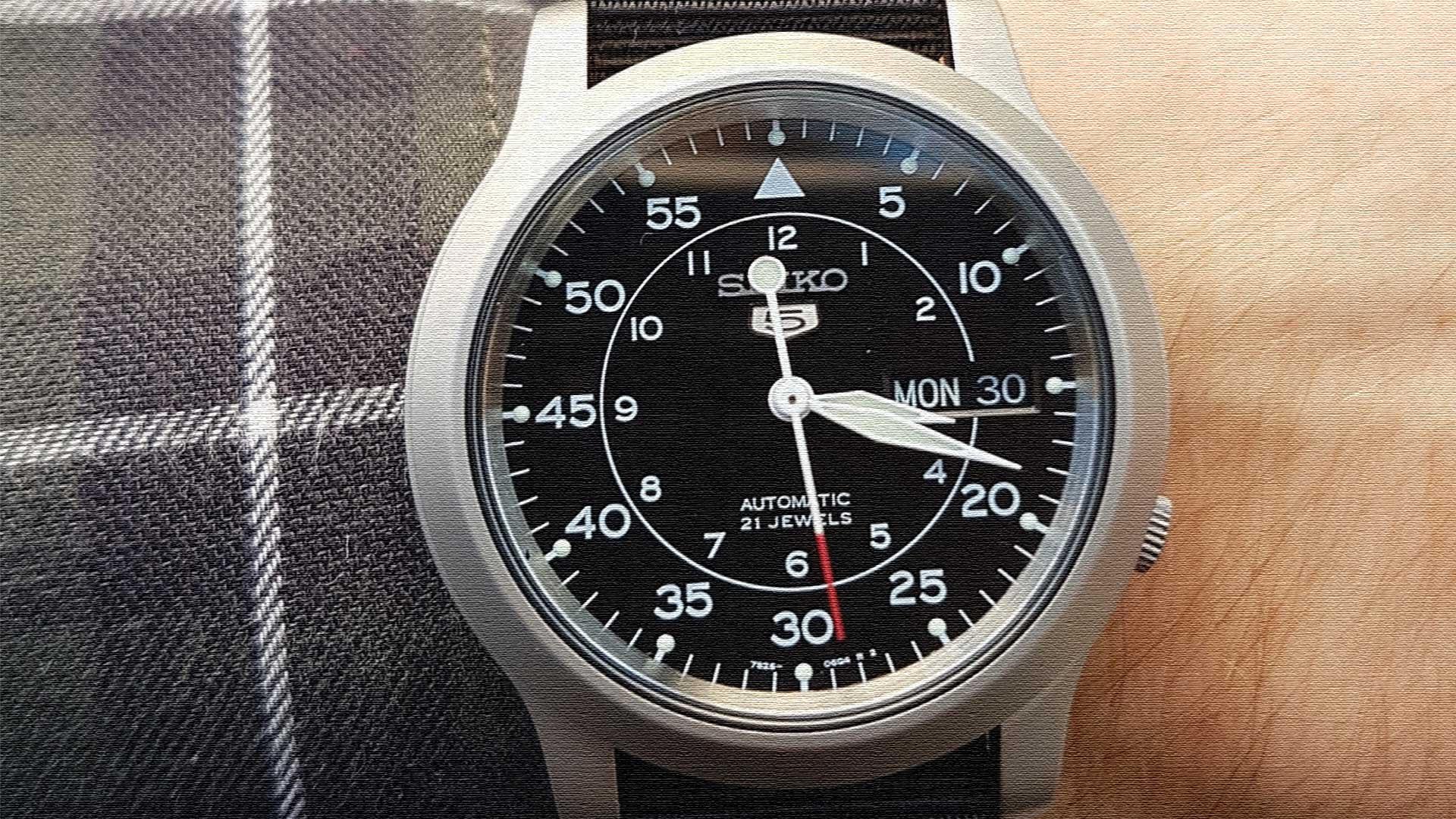 Seiko Watch SNK809